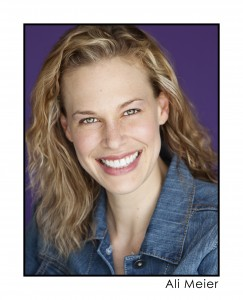 "Ali Meier will play the big sister in ""Overwood""."