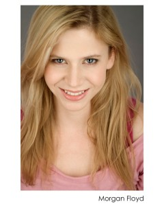 "Morgan Floyd will play the middle sister in ""Overwood""."